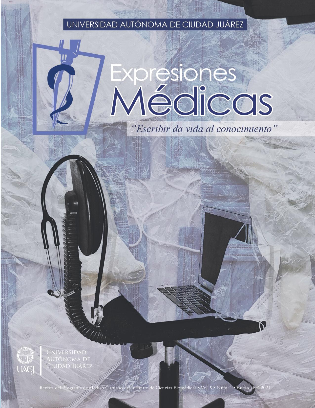 Portada Expresiones Medicas tomo 1 2021