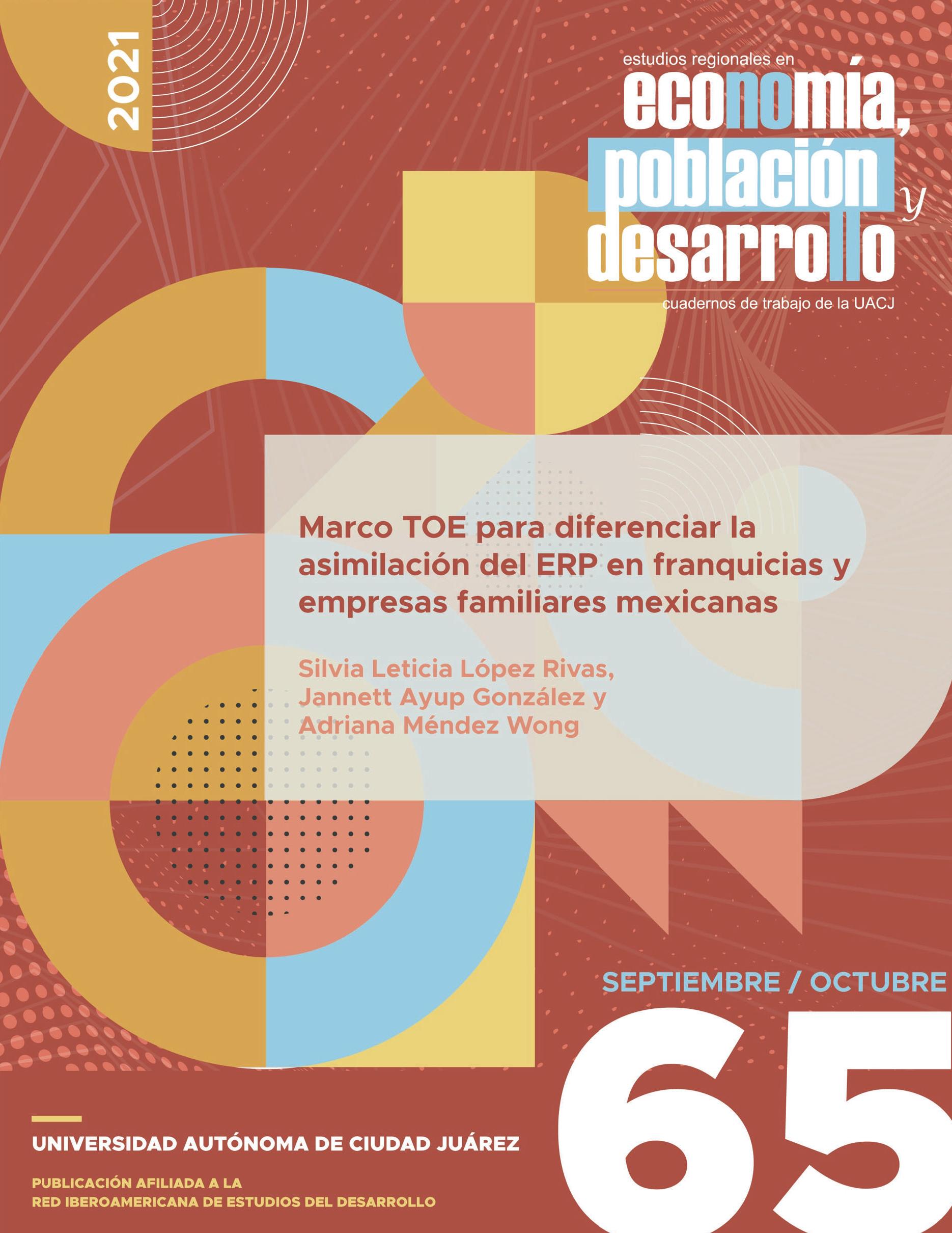Ver Vol. 11 Núm. 65 (2021): Marco TOE para diferenciar la asimilaci´ón del ERP en franquicias y empresas familiares mexicanas