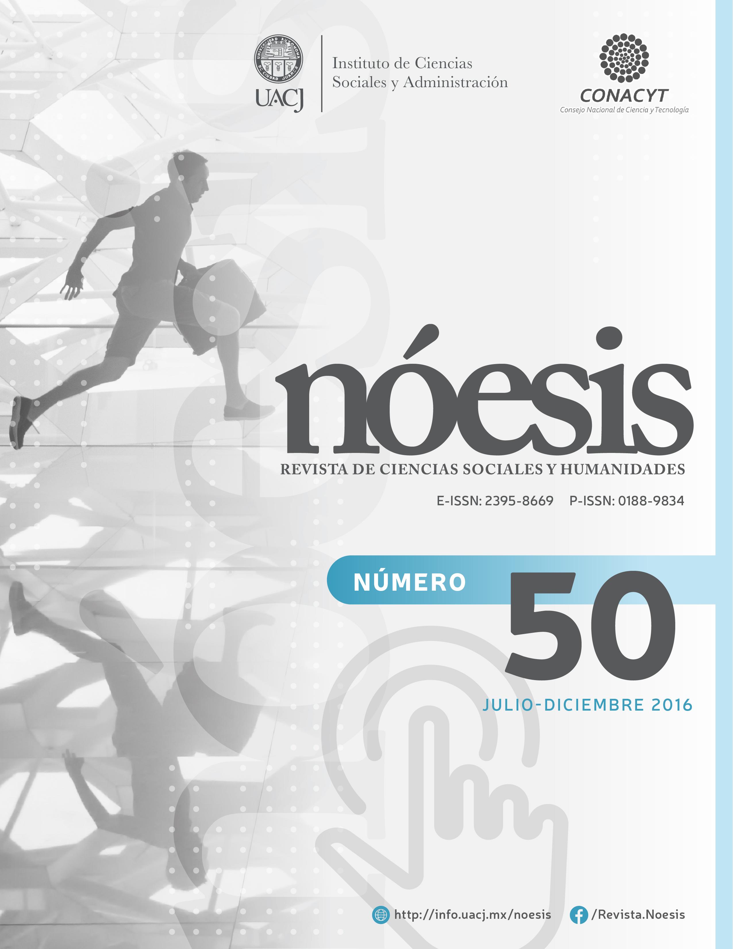Ver Vol. 25 Núm. 50 (2016)