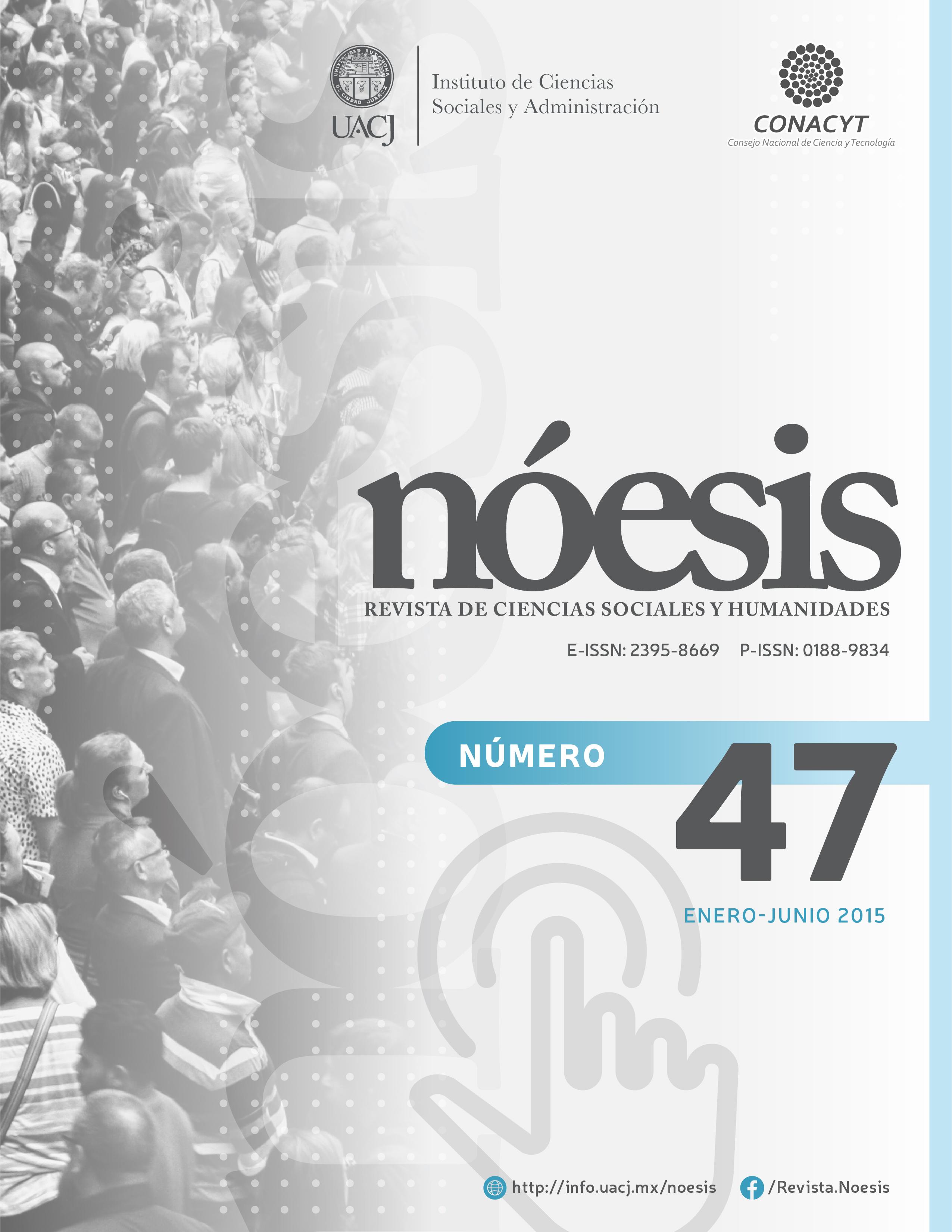 Ver Vol. 24 Núm. 47 (2015)