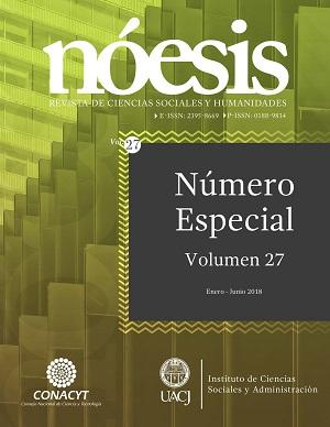 Ver Vol. 27 Núm. 53-1 (2018)