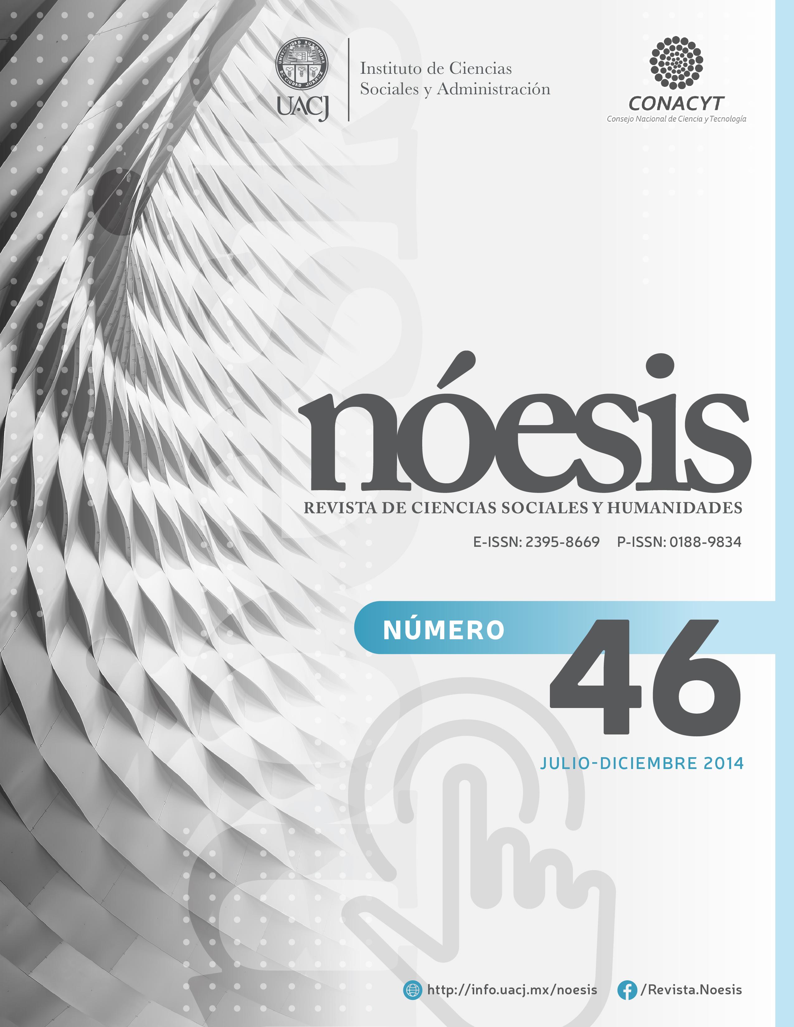 Ver Vol. 23 Núm. 46 (2014)