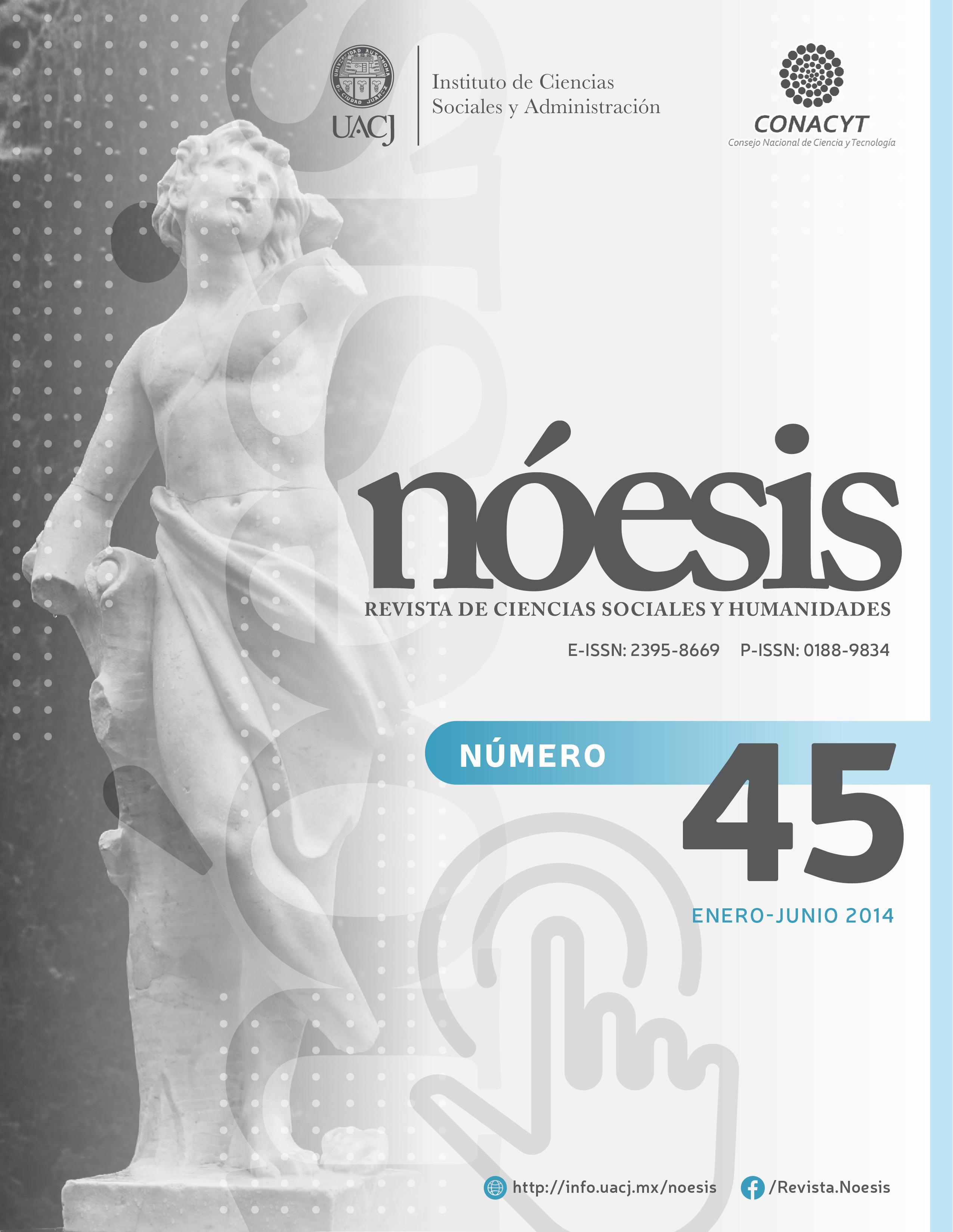 Ver Vol. 23 Núm. 45 (2014)