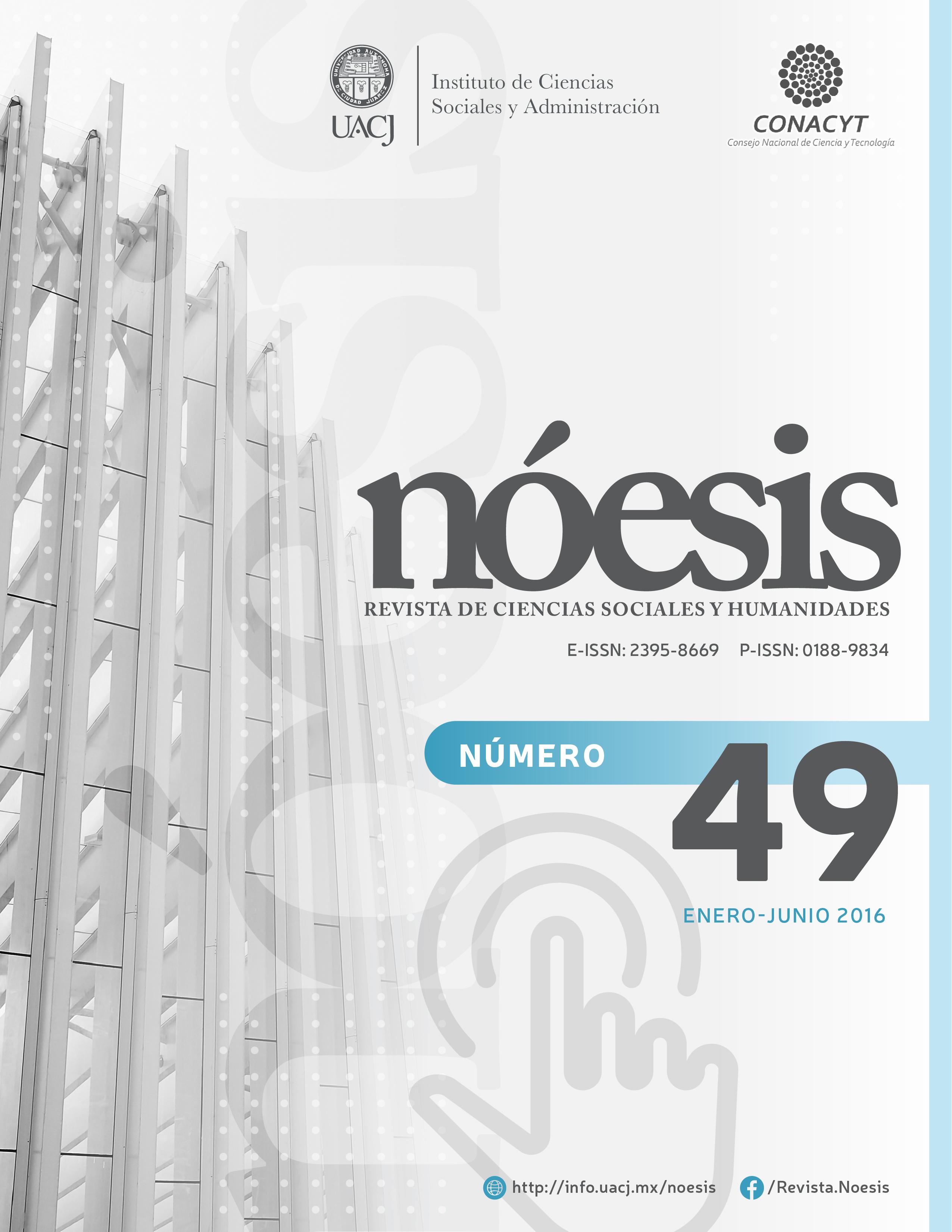 Ver Vol. 25 Núm. 49 (2016)